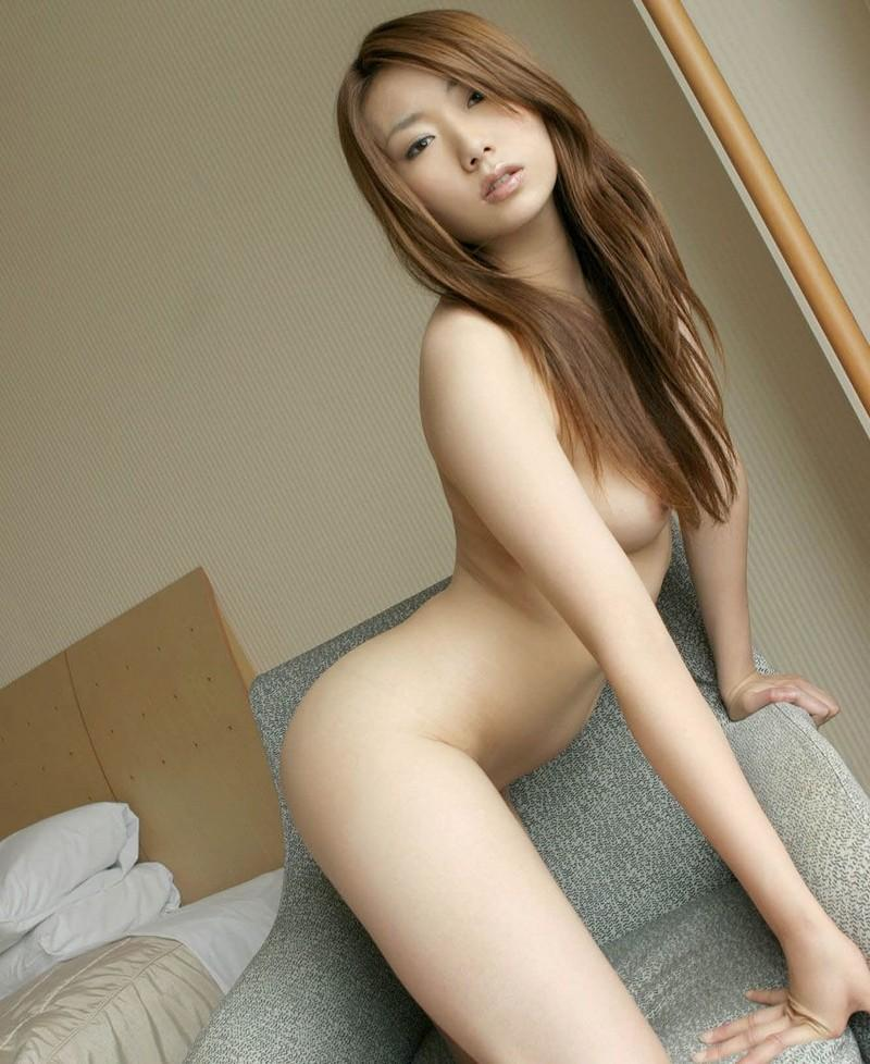 Cute Asian in a nude picture