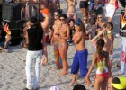 31-thumb-Beach-party-with-hot-topless-babes Two hot babes playing with each other
