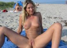 149-thumb-Hot-wife-spreading-her-legs-and-shows-her-juicy-cunt Hot blonde spreads her legs revealing her tight pussy
